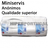 16.000 Guardanapos de papel mini servis