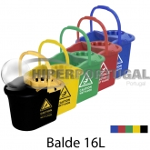 "Balde de esfregona ""Caution"" 16L"