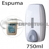 Dispensador de gel em espuma 750ml