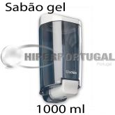 Dispensador de sabão gel, Fumado, 1000ml
