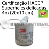 Esfregão Scotch Brite 690 Branco 4 mts. Superficies Delicadas