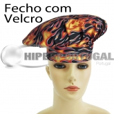 Gorros Chef Flames 2 uds