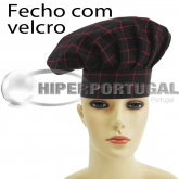 Gorros Chef Red Square 2 uds