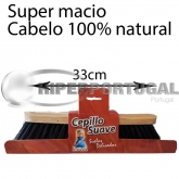 Vassoura Super Suave Pelo Natural